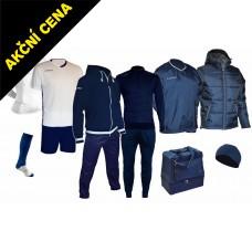 Box Cama 9 modrá-bílá