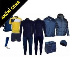 Box Cama 9 žlutá-modrá
