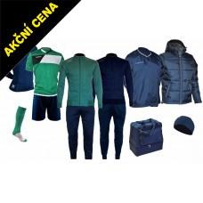 Box Cama 9 zelená-modrá