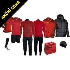 Box Cama 9 červená-černá