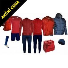 Box Cama 9 červená-modrá