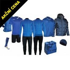 Box Cama 9 azurová modrá-černá