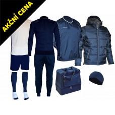 Box Cama 7 modrá-bílá