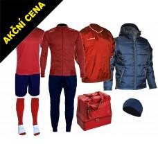 Box Cama 7 červená-modrá
