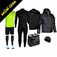 Box Cama 7 černá-žlutá neon