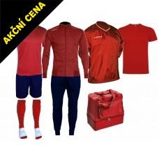 Box Cama 6 červená-modrá