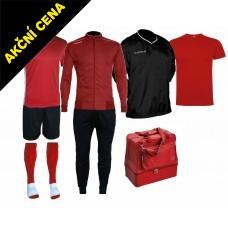 Box Cama 6 červená-černá