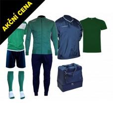 Box Cama 6 zelená-modrá