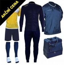 Box Cama 5 modrá-žlutá