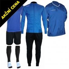 Set Cama 4 azurová modrá-černá