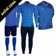 Set Cama 4 azurová modrá-modrá