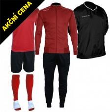 Set Cama 4 červená-černá
