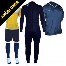 Set Cama 4 modrá-žlutá