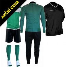 Set Cama 4 zelená-černá