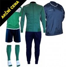Set Cama 4 zelená-modrá