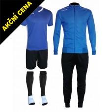 Set Cama 3 azurová modrá-černá