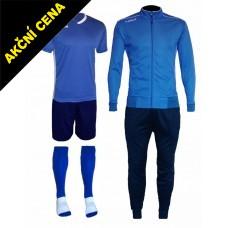 Set Cama 3 azurová modrá-modrá