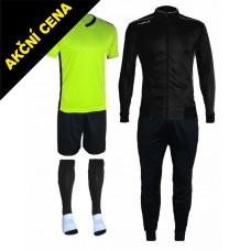 Set Cama 3 černá-žlutá neon