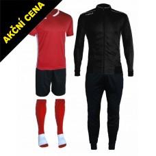 Set Cama 3 červená-černá