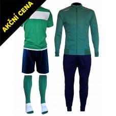 Set Cama 3 zelená-modrá